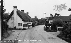 Aspenden, Thatched Cottage c.1965