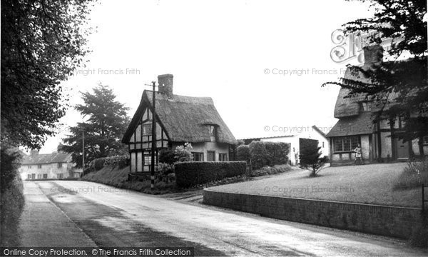 Photo of Aspley Guise, Bedford Road c.1955