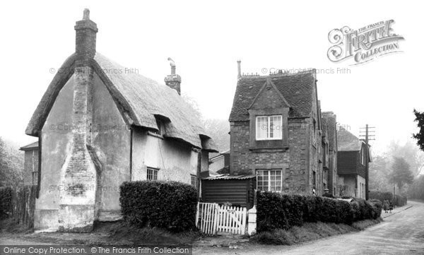 Photo of Aspley Guise, Old Houses c.1955
