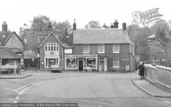 Photo of Aspley Guise, Stores On The Square c.1965