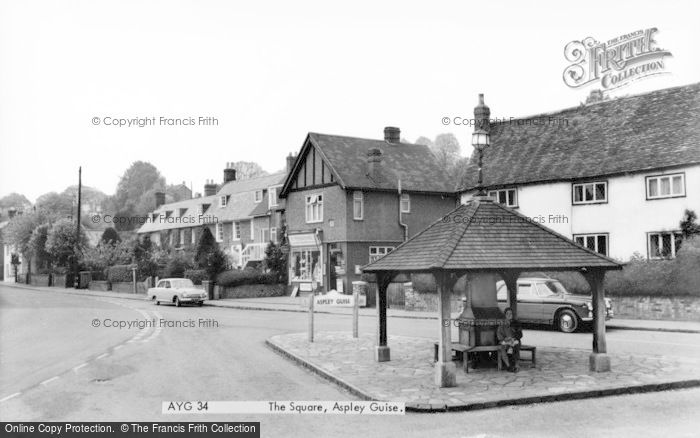 Photo of Aspley Guise, The Square c.1965