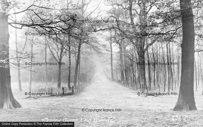 Photo of Aspley Guise, The Woods c.1955