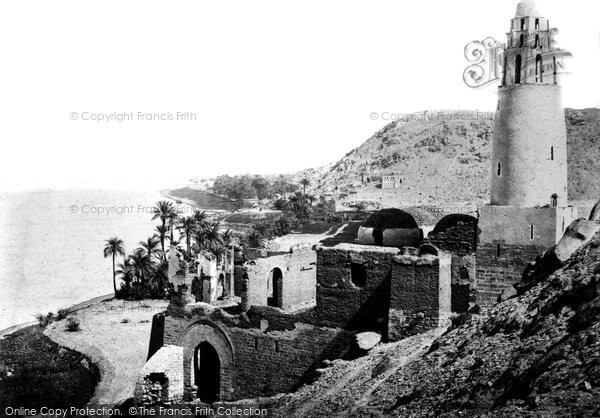 Photo of Assouan, Ruined Mosque At Mishdd, Near Philae 1860