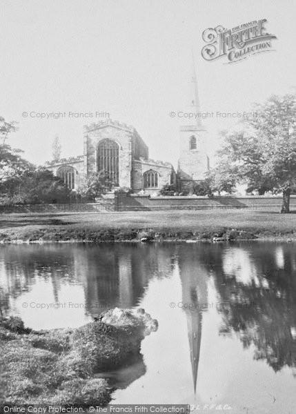 Photo of Astbury, St Mary's Church 1897