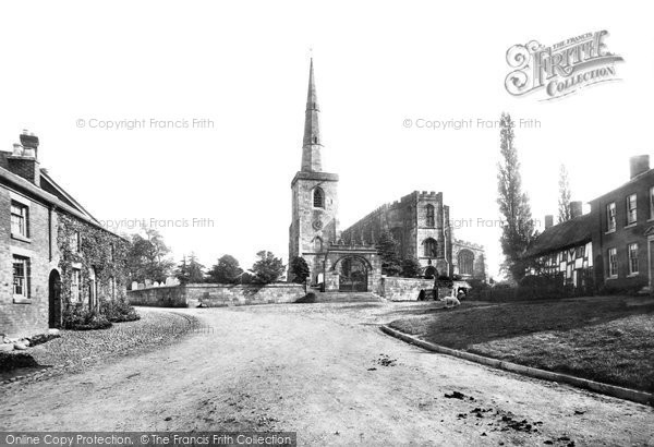 Astbury, St Mary's Church 1897