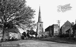 Astbury, St Mary's Church c.1955