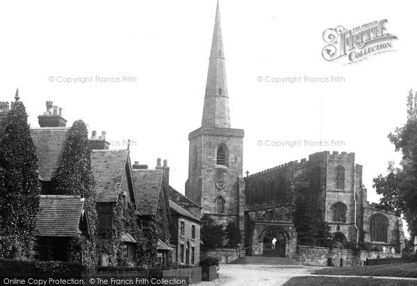 Photo of Astbury, The Village And St Mary's Church 1902