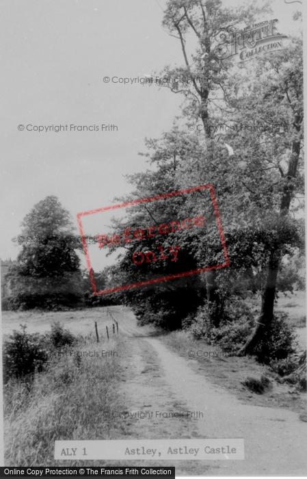 Photo of Astley, Astley Castle c.1955