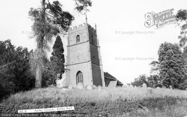 Photo of Astley Burf, The Church c.1955