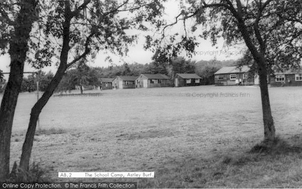 Photo of Astley Burf, The School Camp c.1955