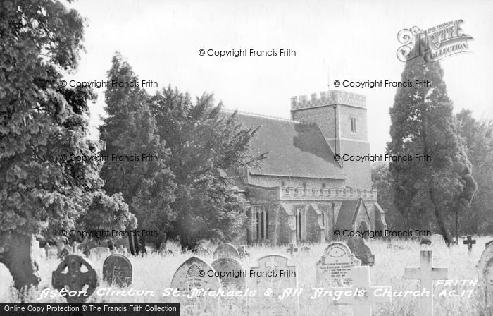Photo of Aston Clinton, St Michael And All Angels' Church c.1950