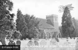 Aston Clinton, St Michael And All Angels' Church c.1950