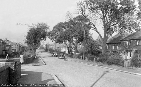 Photo of Aston, Lodge Lane 1950