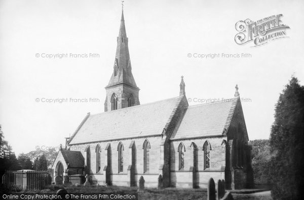 Photo of Aston, St Saviour's Church 1900