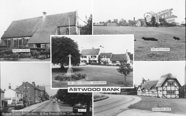 Photo of Astwood Bank, Composite c.1965