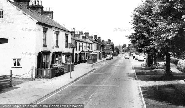 Astwood Bank, Evesham Road c.1965