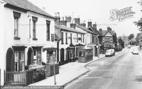 Photo of Astwood Bank, Evesham Road, The White Lion c.1965