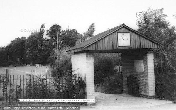 Photo of Astwood Bank, Park Entrance c.1965