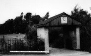 Astwood Bank, Park Entrance c.1965