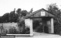 Astwood Bank, Park Entrance c.1965