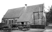 Astwood Bank, St Matthias and St George Parish Church c1965