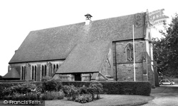 Astwood Bank, St Matthias And St George Parish Church c.1965