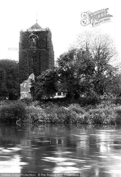 Photo of Atcham, St Eata's Church 1891