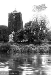 Atcham, St Eata's Church 1891