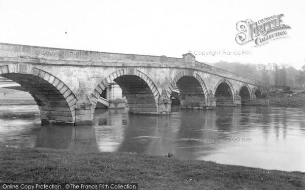 Photo of Atcham, The Bridge c.1950