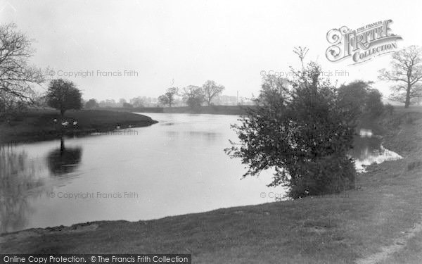 Photo of Atcham, The River c.1950