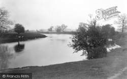 Atcham, The River c.1950