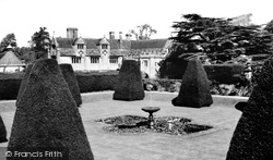 Athelhampton, House And Dovecote From The Great Terrace c.1960