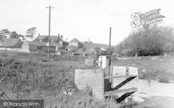 General View Of King Alfred's Moument c.1960, Athelney