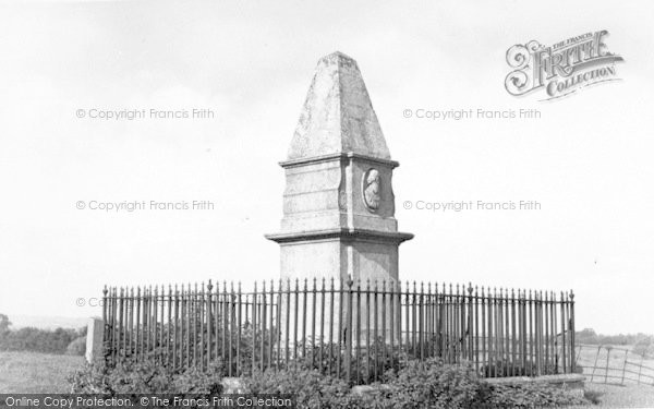 Photo of Athelney, King Alfred Monument c.1960