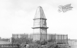 Athelney, King Alfred Monument c.1960