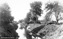 Athelney, The River c.1960