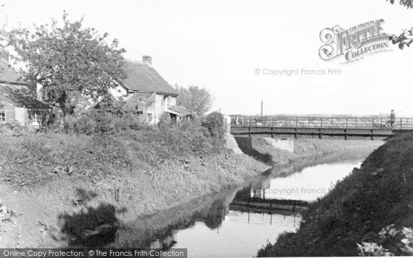 Photo of Athelney, The River c.1960