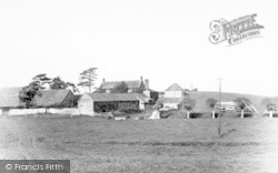 Athelney, The Village c.1960