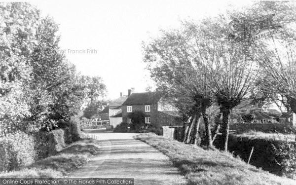 Photo of Athelney, The Village c.1960
