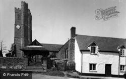 St Mary's Church c.1955, Atherington