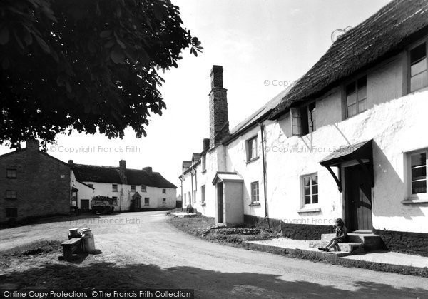 Photo of Atherington, The Village c.1950