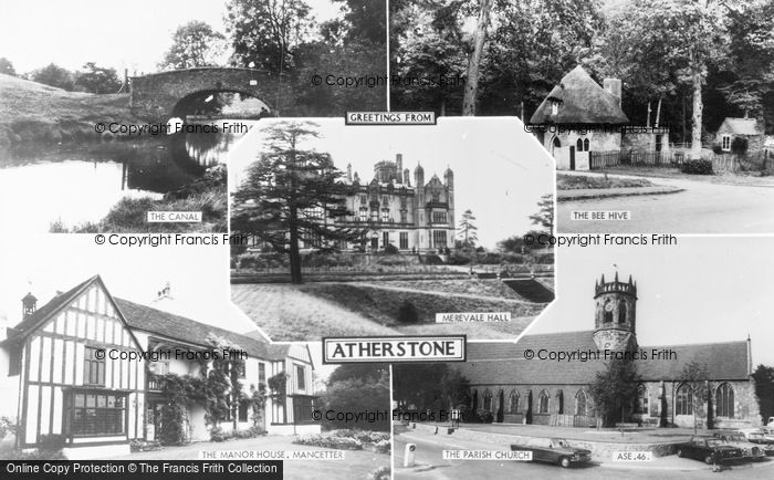 Photo of Atherstone, Composite c.1965