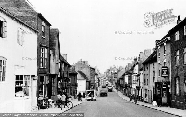 Photo of Atherstone, Long Street c.1955