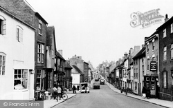 Atherstone, Long Street c.1955