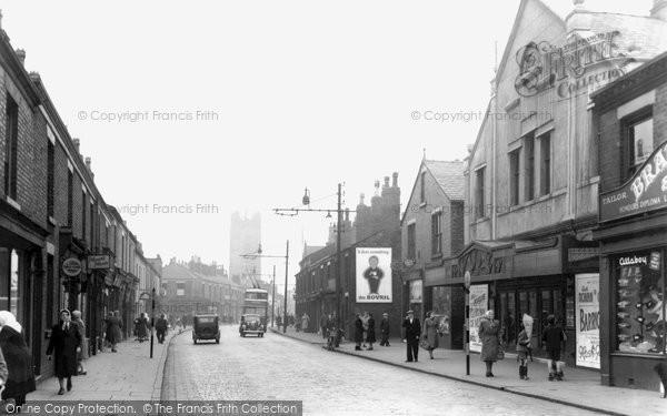 Photo of Atherton, Market Street c.1955