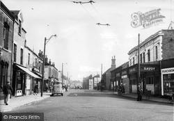 Atherton, Market Street c.1955