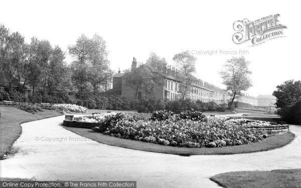 Photo of Atherton, The Sunken Gardens And Park c.1955
