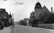 Atherton, The Town Hall, Bolton Road c.1950