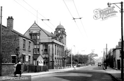 Atherton, Town Hall And Bolton Road c.1960