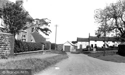 Atwick, Cliff Lane c.1960